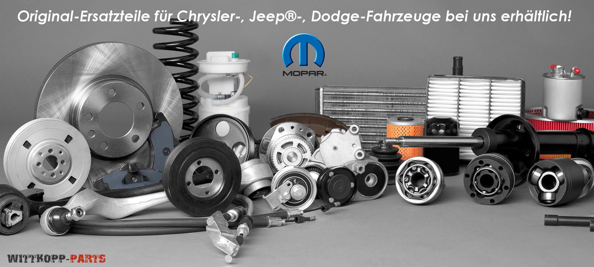 Original Ersatzteile für Chrysler, Jeep®, Dodge