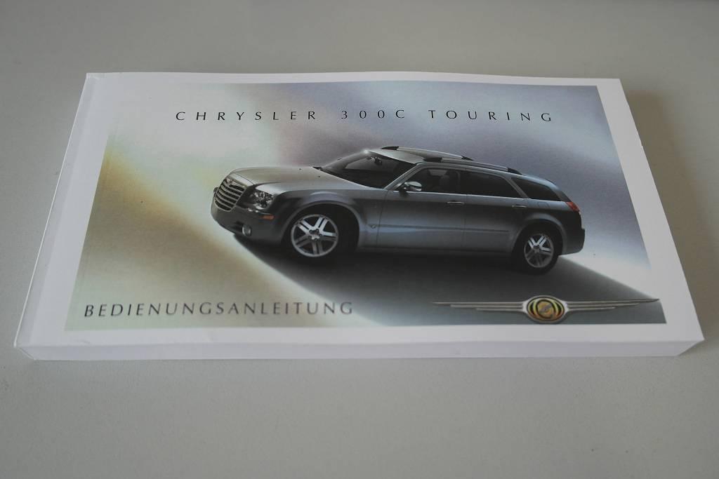 Bedienungsanleitung Chrysler 300C Touring ab Mod. 2007 (Kopiensatz in deutsch)