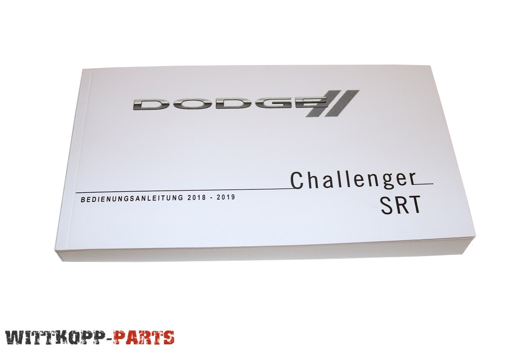 Bedienungsanleitung Dodge Challenger SRT Hellcat ab 2018