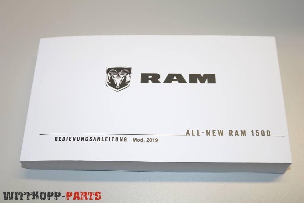 Bedienungsanleitung Dodge Ram 1500 Mod.2019