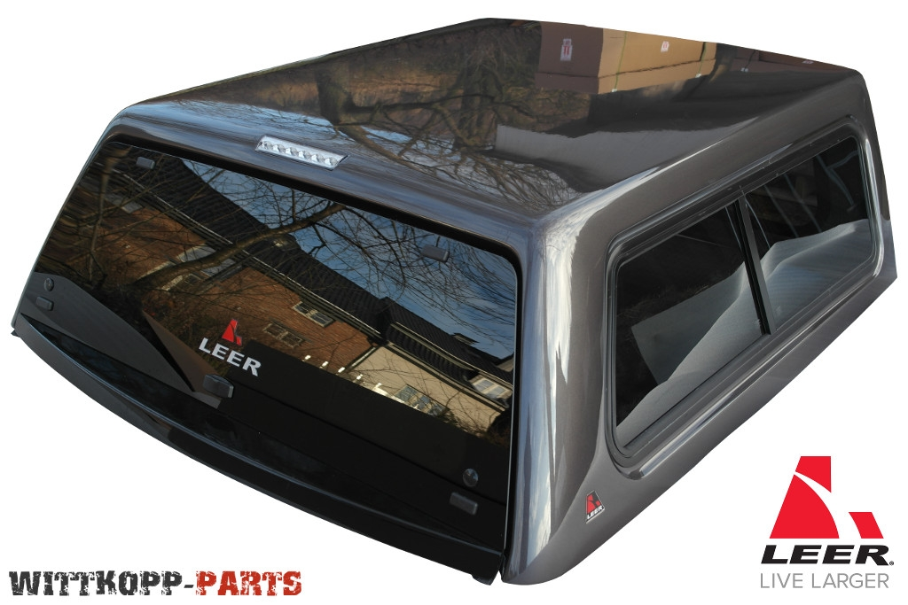 leer hardtop 100xr dodge ram 1500 crew cab 09 18 grau. Black Bedroom Furniture Sets. Home Design Ideas