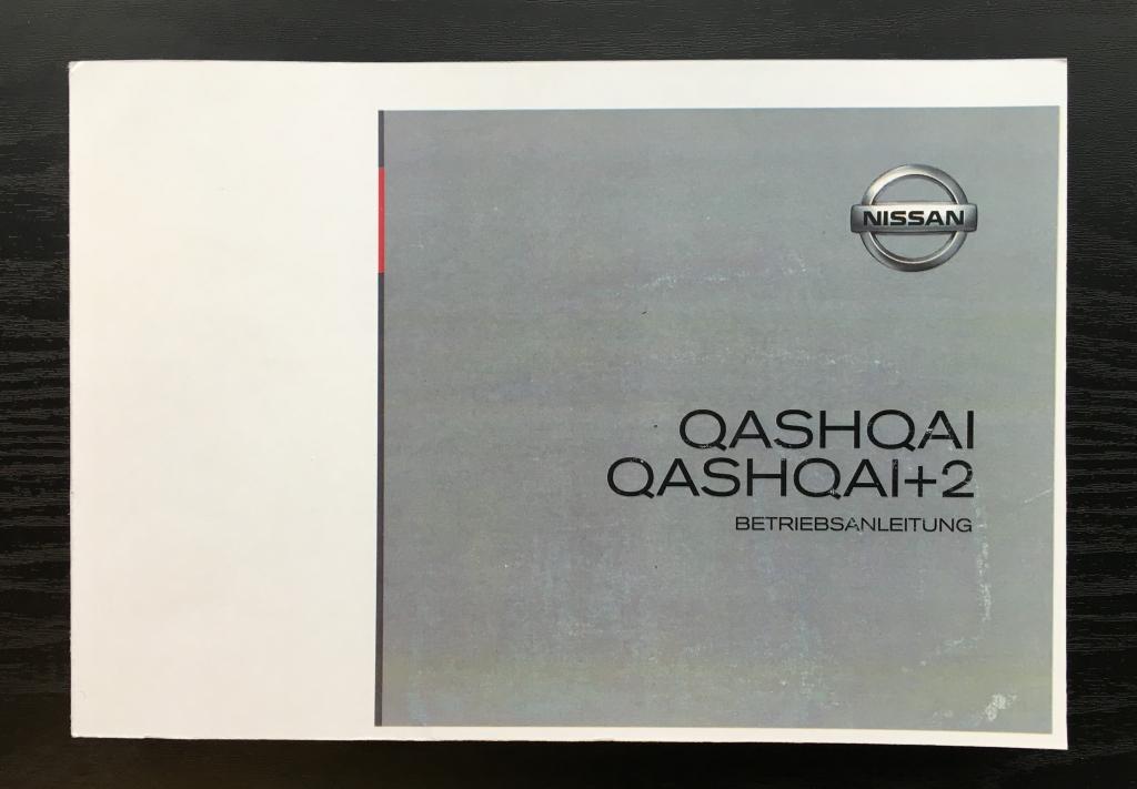 bedienungsanleitung nissan qashqai und qashqai 2 mod. Black Bedroom Furniture Sets. Home Design Ideas