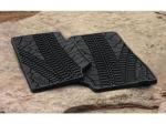 Satz Gummifußmatten mit Reifenprofil vorne - passend für Jeep Wrangler
