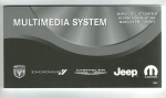 Bedienungsanleitung Chrysler/Jeep/Dodge Audiosystem RB2