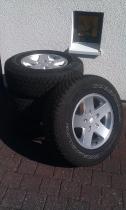 originaler Komplettradsatz für Jeep Wrangler  JK