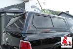 LEER Hardtop 100R Dodge Ram 1500 Quad Cab Mod. 2009-2018 -  Ladeflächenlänge: 6.4FT (PXR = Brilliant Black Met.)