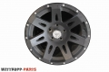 17x9 XHD Rugged Ridge LM-Felgen - Satz - Schwarz Matt