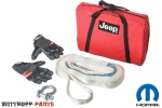 WARN Winch Kit (Schlepptau / Bergegurt) - mit Jeep Logo